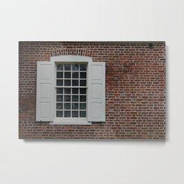 Annapolis Window Metal Print