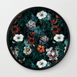 NIGHT FOREST XXI Wall Clock