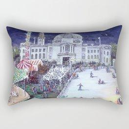 Cardiff Winter Wonderland Rectangular Pillow