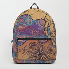 Brown Ganesha Backpack