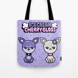 ICECREAM AND CHERRYGLOSS Tote Bag