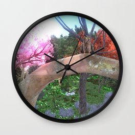Cult of Youth: Youth Hunter Landing Zone Wall Clock