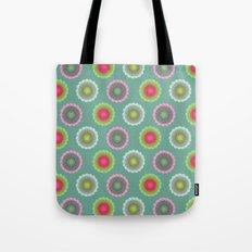 transparent floral pattern 3 Tote Bag