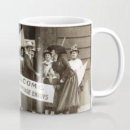 Suffrage Envoy Photograph (1915) Coffee Mug