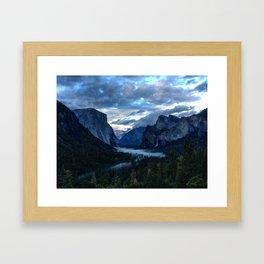Yosemite Valley Framed Art Print