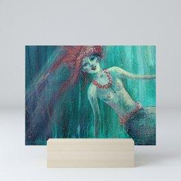 Little Mermaid fragment 1 Mini Art Print