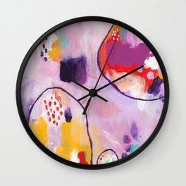 June bug Wall Clock