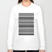 ethnic Long Sleeve T-shirts featuring |Ethnic by ricardocarn