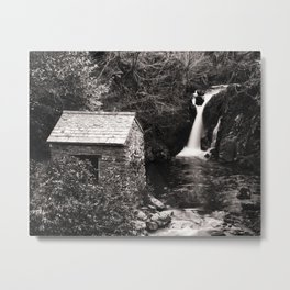 The Grot, Rydal Hall, in the Lake District Metal Print
