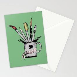 Ink cup Stationery Cards
