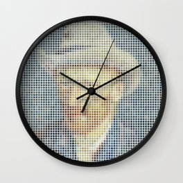 Van Gogh Deconstructed Wall Clock