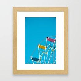 Ferris_Wheel - Northern Michigan Framed Art Print