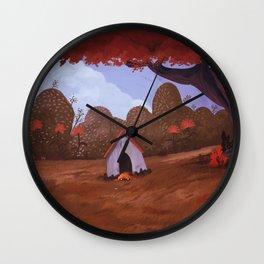 PUG SLEEPING Wall Clock