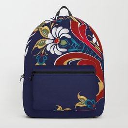 Scandinavian Rosemaling II Backpack