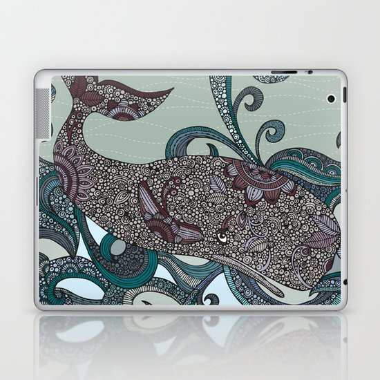 Deep Blue Me Laptop & iPad Skin
