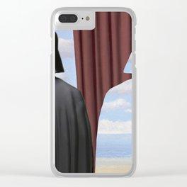 Decalcomania de Vader Clear iPhone Case