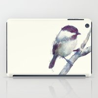 wesley bird iPad Cases featuring Bird // Trust by Amy Hamilton