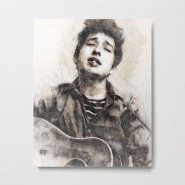 Bob Dylan portrait 01 Metal Print