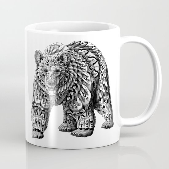Ornate Bear Mug