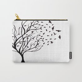 Tree Birds Carry-All Pouch
