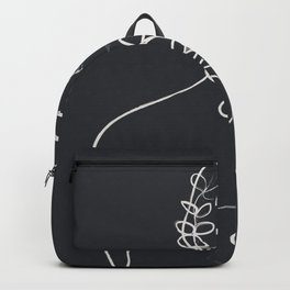 Minimalist Abstract Woman V Backpack