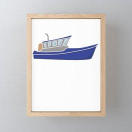 FIshing It's a Whole New Trawl Game Framed Mini Art Print