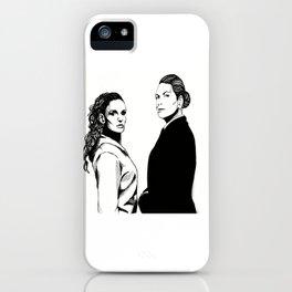 Queen Bea + The Freak iPhone Case