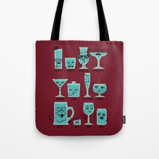 Field Guide to Alcoholic Drinkware Tote Bag