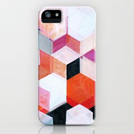 White Paint and Some Colors iPhone Case
