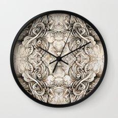 Cruciform Wall Clock