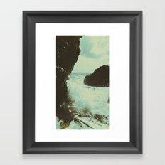 Seaside part one Framed Art Print