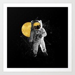Moon Traveller Art Print