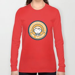 Cute John Watson - Orange Long Sleeve T-shirt