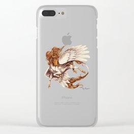 Sundance Pegasus (Painting) Clear iPhone Case