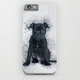 Staffordshire Bull Terrier iPhone Case