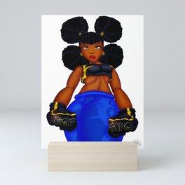 Tough Girl Mini Art Print