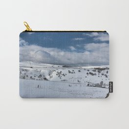 Snow in the peak district Carry-All Pouch
