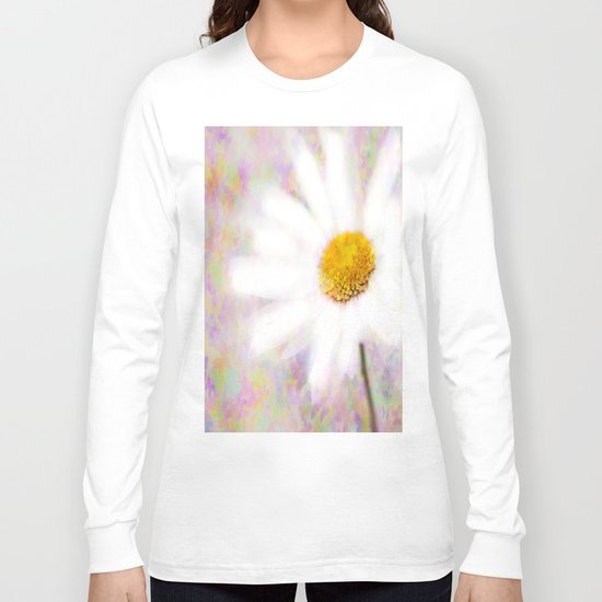 Daisy on Butterflies Long Sleeve T-shirt