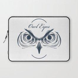 owl eyes Laptop Sleeve