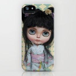 Japanese Doll by Erregiro iPhone Case