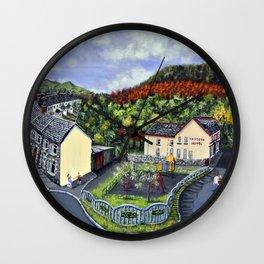 Ynysddu Wall Clock