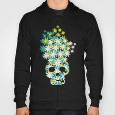 Flowers on the head. Hoody