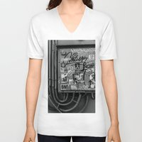 grafitti V-neck T-shirts featuring TOKYO SHUTDOWN CIRCUIT by T.K.O.