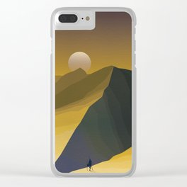 Two Suns Clear iPhone Case