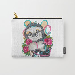 Happy Sloth Carry-All Pouch