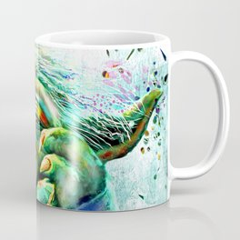 Yoda Painting Coffee Mug