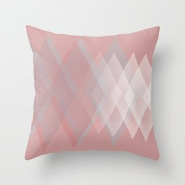 Pink Pastels  Throw Pillow