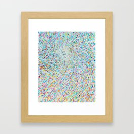 New Age Wisdom Framed Art Print
