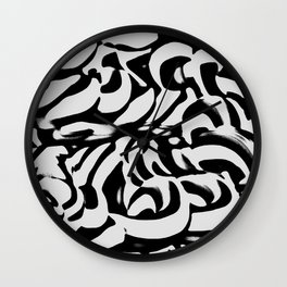 Rad and BAD Wall Clock