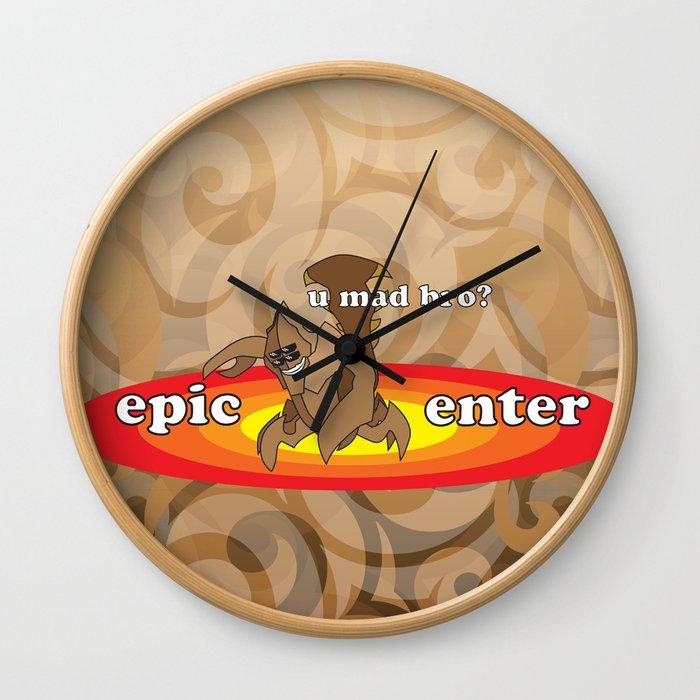 SandKing - Epic Enter Wall Clock